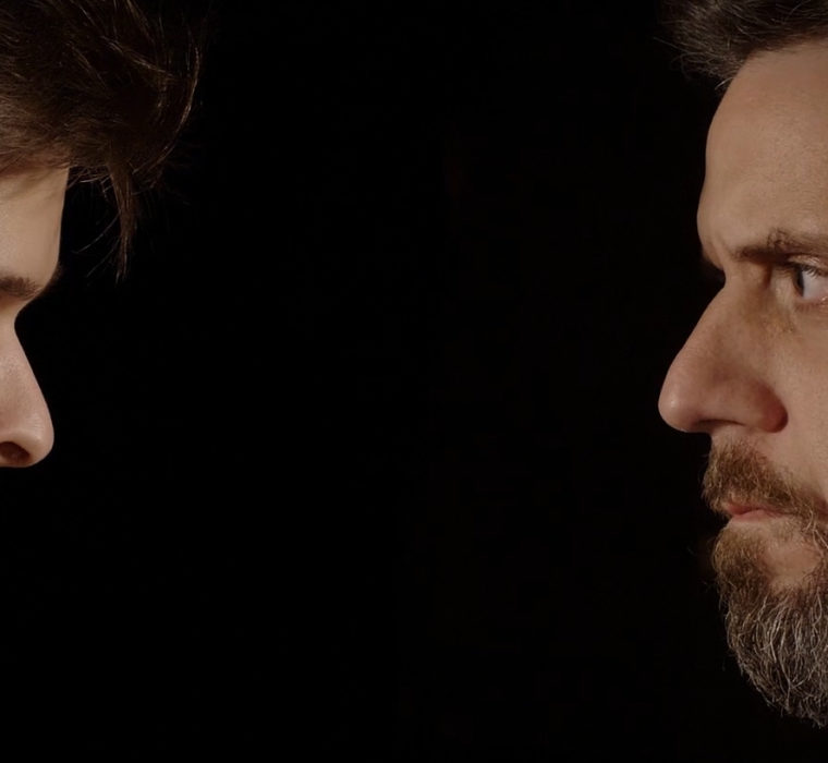 Fotogramma tratto dal cortometraggio Il Personaggio