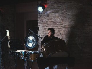 Luca Giacobbe plays a preview from a new work for vibraphone